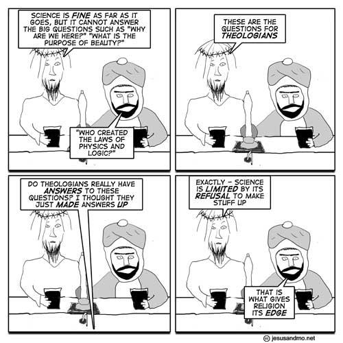 Jesus och Mohammed