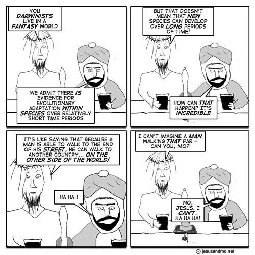 funny science. religion vs science