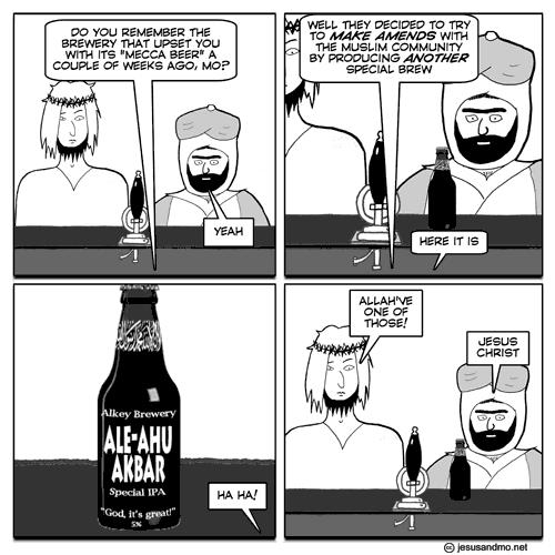 Jesus and Mo: IPA
