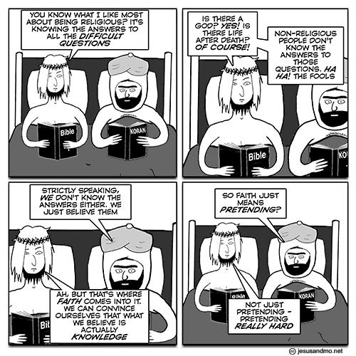Jesus and Mo cartoon
